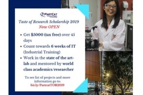 Taste of Research 2019 Particle and Catalysis Research Group