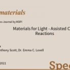 Special Issue in Materials Materials for Light-Assisted Catalytic Reactions)
