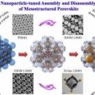 The controlled disassembly of mesostructured perovskites as an avenue to fabricating high performance nanohybrid catalysts