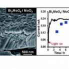 Photoelectrochemical water oxidation using a Bi2MoO6/MoO3 heterojunction photoanode synthesised by hydrothermal treatment of an anodised MoO3 thin film