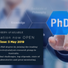 UNSW Postgraduate Research Scholarship 2019